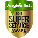 Lowcountry Basement Systems Earns Esteemed 2013 Angie's List Super Service Award