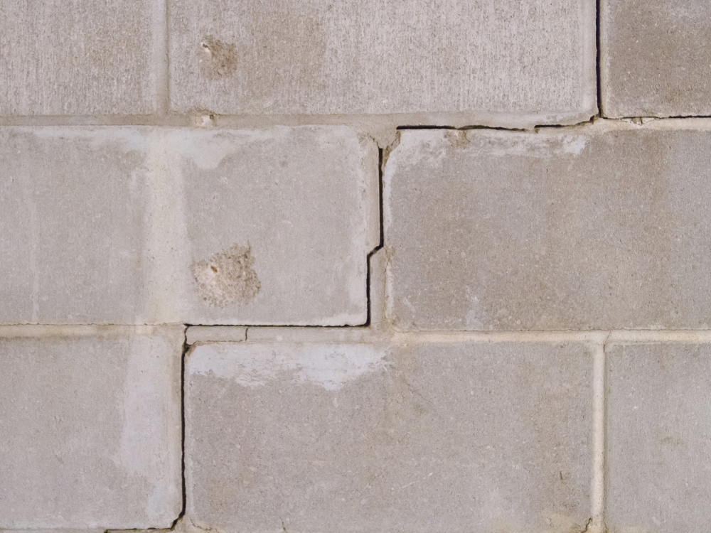 Tilting & cracked foundation wall repair in Greater Pittsburgh