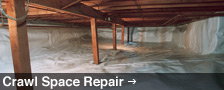 Crawl Space Repair in Texas
