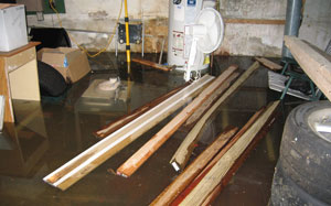 Prevent damage to your belongings by waterproofing your basement