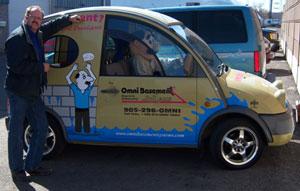 Omni Basement Systems' Crazy Car