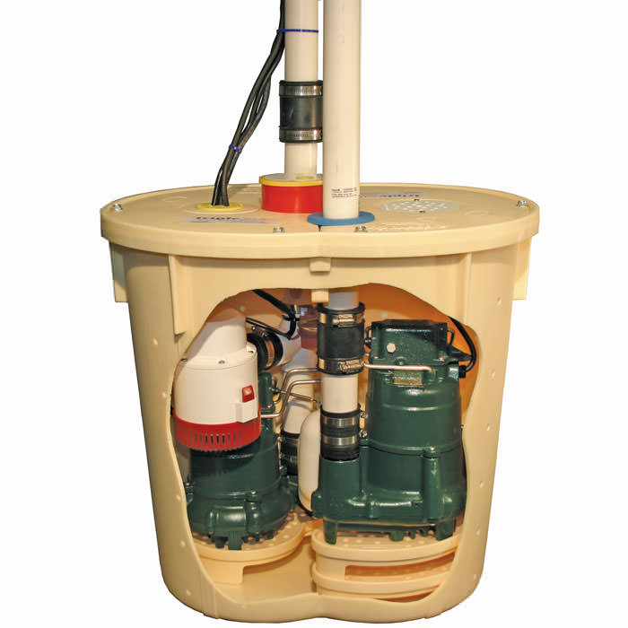 TripleSafe sump pump for installation in Guelph, ON