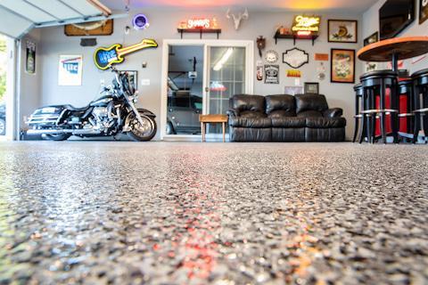 Finished Garage Floor