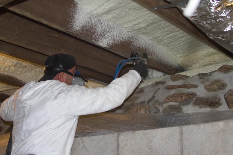 Spray Foam Insulation Installation in New Paltz & Nearby