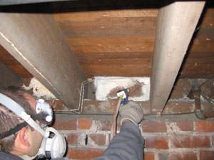 Spray foam insulation in Suamico