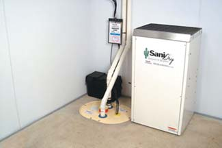 Sump pump & dehumidifier service