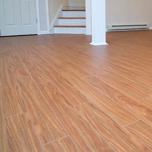 Thermaldry plank floor