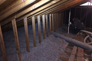 Cellulose Insulation Installation In Greater Richmond