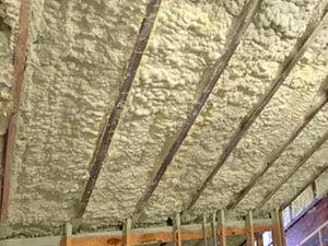 Spray foam insulation in Lanexa