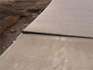 Exterior Concrete Slabs