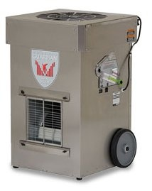air scrubber HEPA system