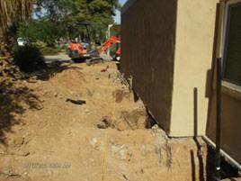 foundation piering process Arizona