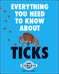 Protect yourself from ticks! Everything you need to know about ticks, click to download your FREE E-book