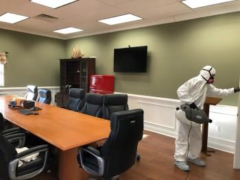 Office virus cleaning