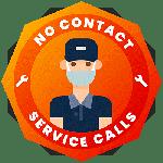 No Contact Service Calls Icon