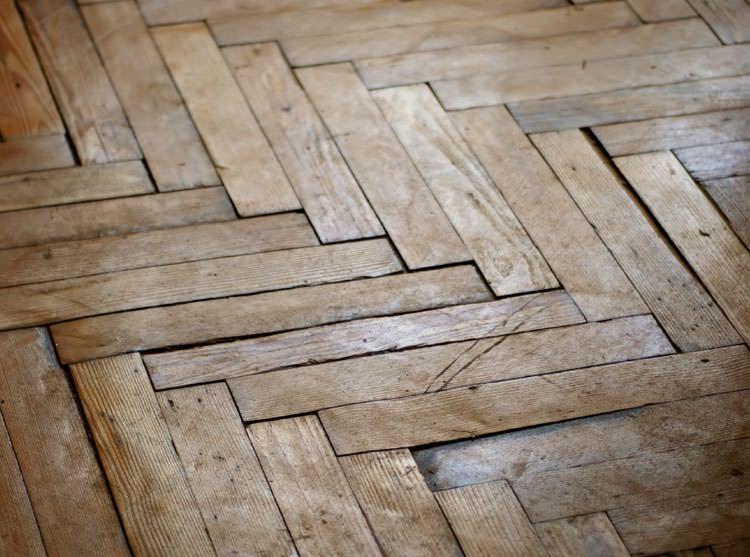 A [city] buckling wood floor.