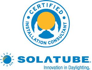 Certified Solatube installer in Charleston, SC & NC