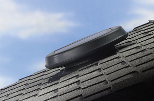 Solar Star Attic Fan installed on Bluffton roof
