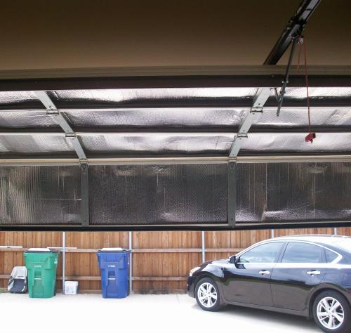 Garage Door Insulation Installed in Charleston, SC & NC