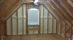 Spray foam insulation in Lancaster