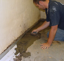 Sump Pump Drain and Discharge Line Installation Installed in Espanola