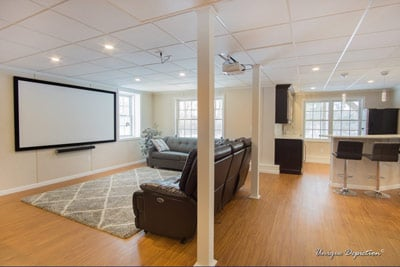 Basement Finishing Services in Littleton, Massachusetts