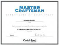 CertainTeed CertaWrap Master Craftsman