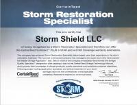 CertainTeed Storm Retoration Specialist