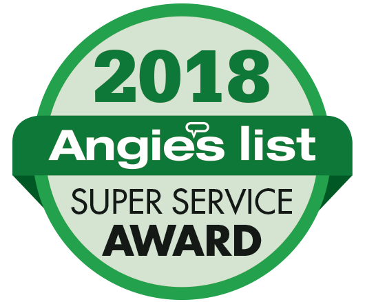2018 Angies List Super Service Award Winner!