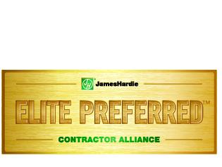 James Hardie - Elite Preferred Contractor