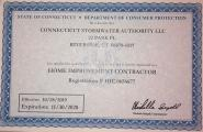 State of Connecticut Licensed Home Improvement Contractor - #HIC.06566