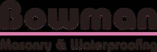 Bowman Masonry & Waterproofing Logo