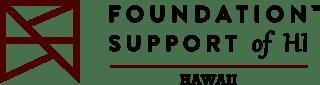 Foundation Support of HI Logo