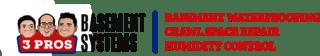 3 Pros Basement Systems Logo