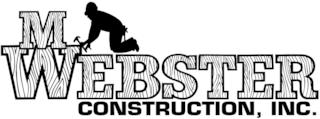 M Webster Construction, Inc Logo
