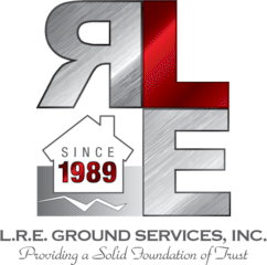 L.R.E. Ground Services, Inc. Logo