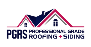 PGRS:Professional Grade Roofing + Siding Logo
