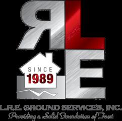 L.R.E. Ground Services, Inc. Logo