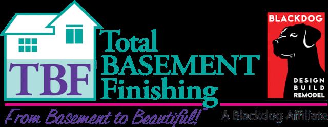 Total Basement Finishing, A Blackdog Affiliate Logo