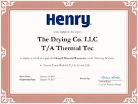 Henry Permax Spray Foam Certified