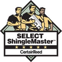 CertainTeed Select ShingleMaster, 5 Star
