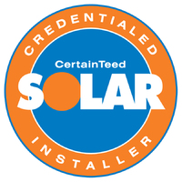 CertainTeed Solar Contractor since 2012