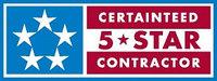 CertainTeed 5 Star Contractor