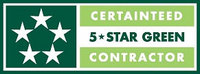 CertainTeed 5 Star Green Contractor