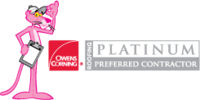 Owens Corning® Roofing Platinum Preferred Contractor