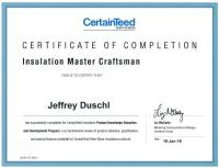 CertainTeed Insulation Master Craftsman