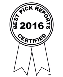 2016 Best Pick Reports Certified