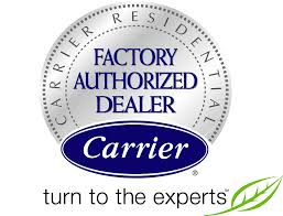 Factory Authorized Dealer for Carrier