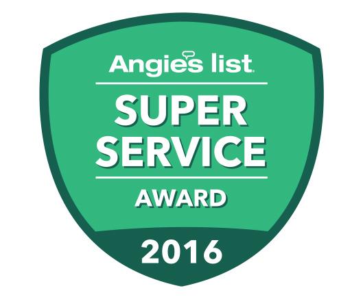 Angieslist Super Service Award