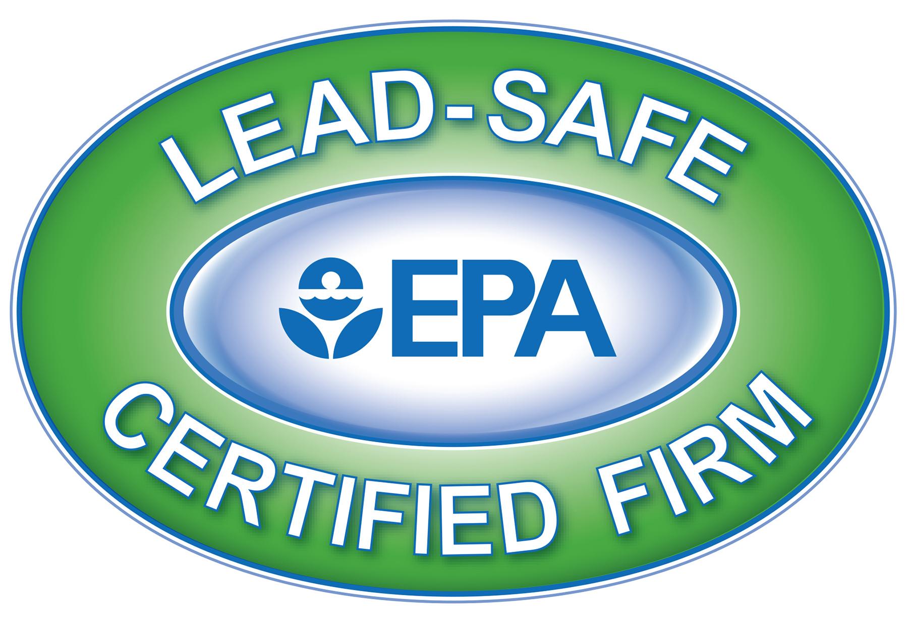 Arrow Renovation is an EPA Lead-Safe Certified Firm